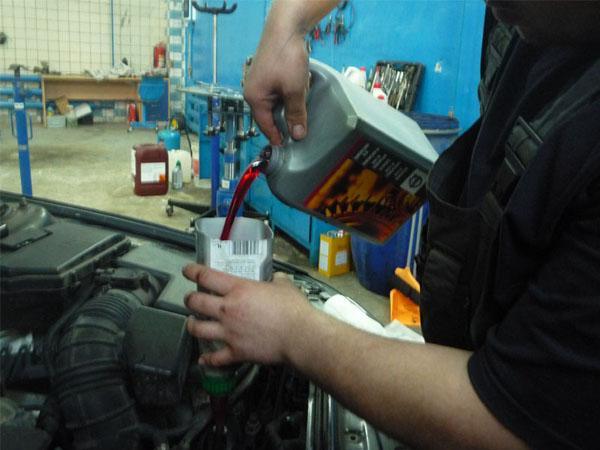 Замена масла в АКПП Вольво - инструкция
